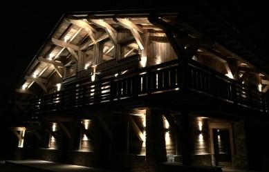 Iluminated Chalet